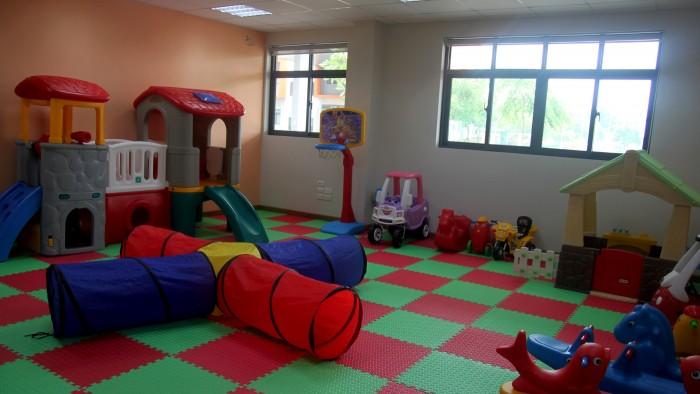 Play room for kindergarten