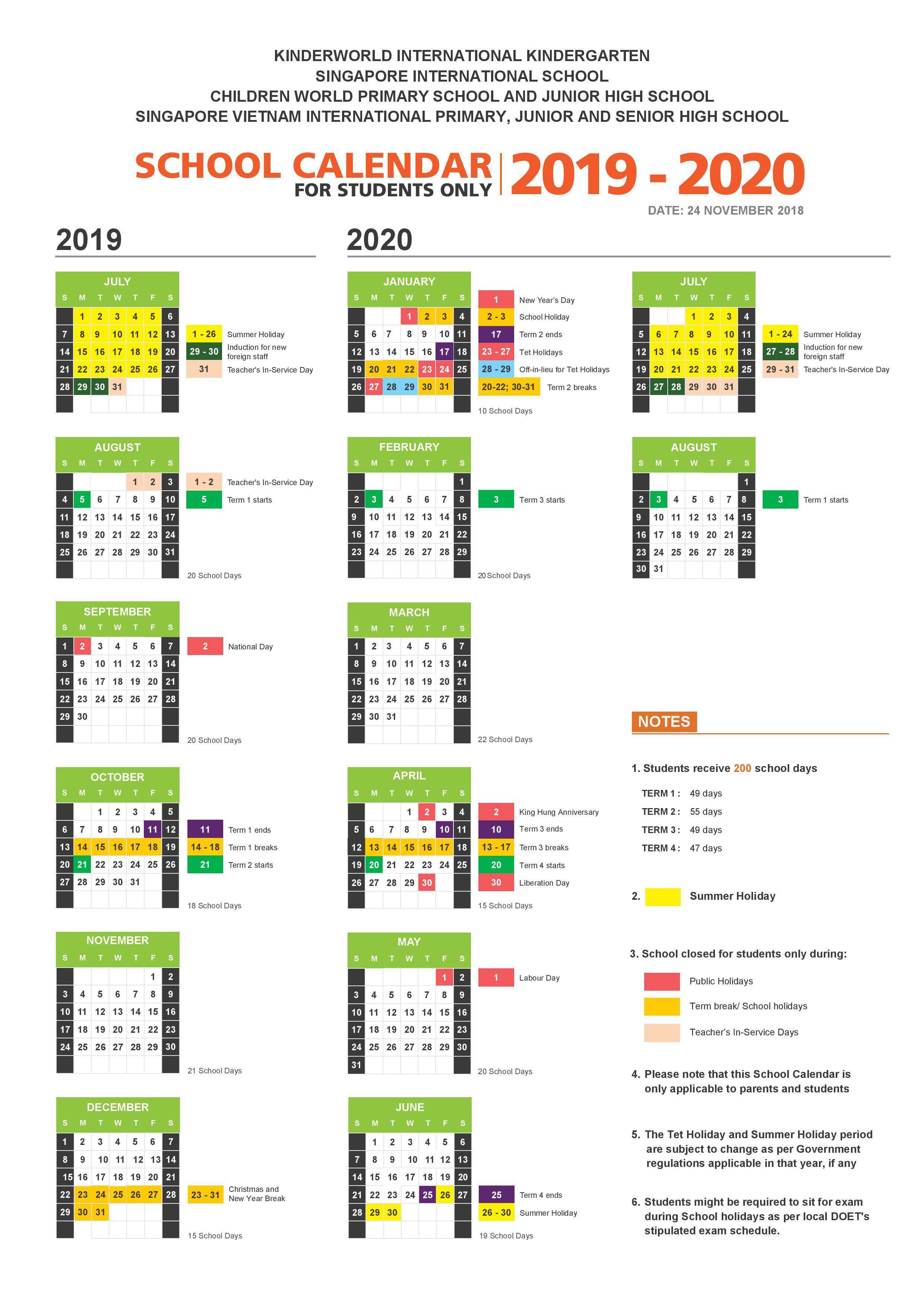 School Calendar 2019 - 2020_KIK_SIS-page-001