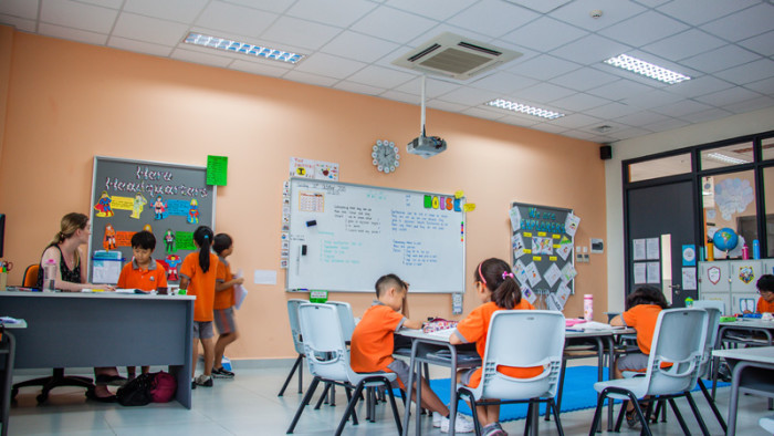 Typical Primary Classroom
